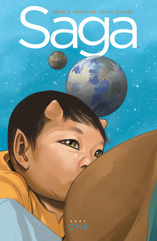 Saga: Book One by Brian K. Vaughan & Fiona Staples